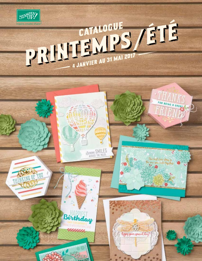 Catalogue Printemps / Eté 2017