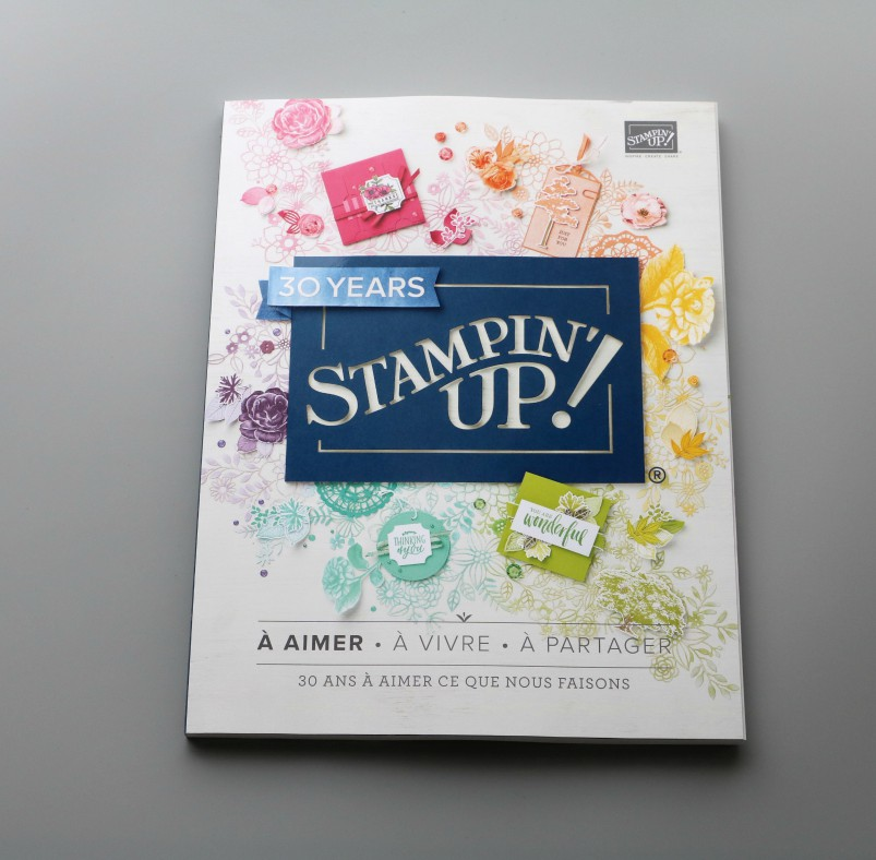 LE NOUVEAU CATALOGUE 2018-2019 STAMPIN'UP