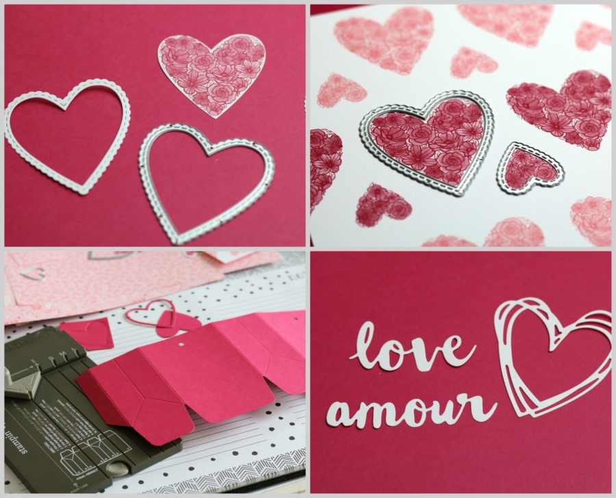 Collection de Tout mon coeur Stampin'UP